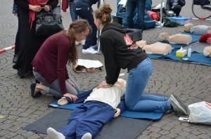 Demo binnenstad Taskforce QRS Maastricht