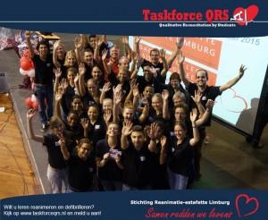 Taskforce QRS bij de Reanimatie-Estafette 2014