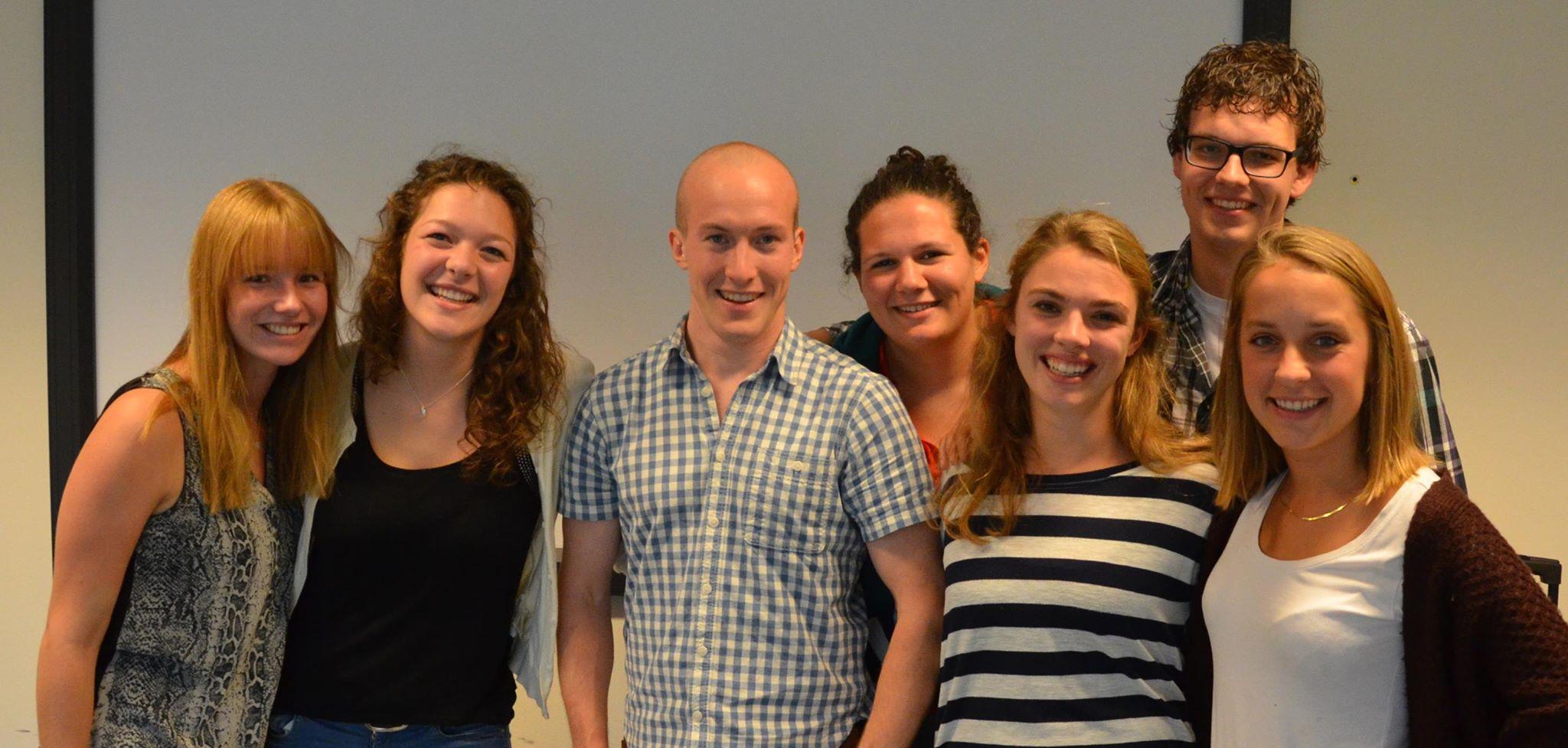 een groepsfoto van het bestuur van Taskforce QRS Utrecht in 2015